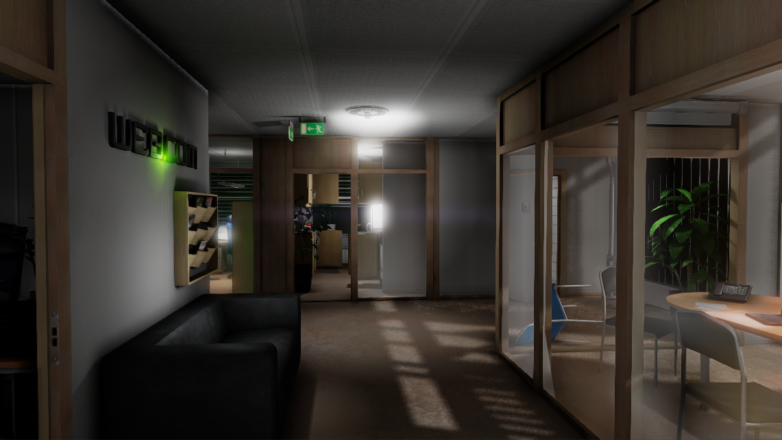 Survival Horror Game Office Building